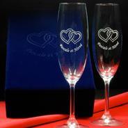 Coffret flûtes à champagne